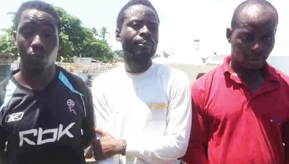 nigerians smuggled malaysia cargo ship