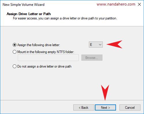 cara membagi partisi hardisk 500gb saat instal ulang