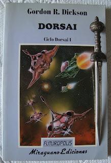 Portada del libro Dorsai, de Gordon R. Dickson