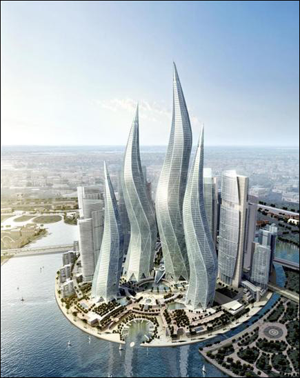 World Visits: Dubai Tower Images Wallpapers