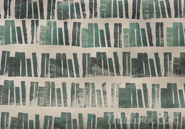 Bücherregal gezeichnet  Müllerin Art: September 2016