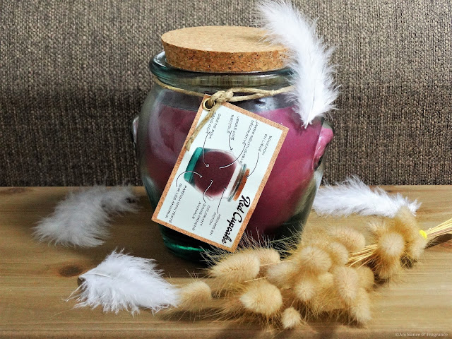 Avis  Red Cupcake de Mr DeFrance Candle - Blog Bougie - Blog Parfum