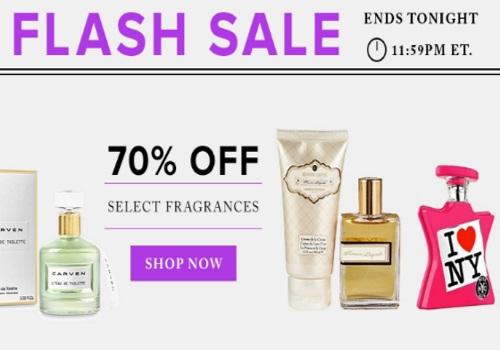 Hudson's Bay Flash Sale 70% Off Fragrances