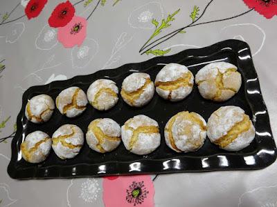 dessert biscuits sablés amarettis pâtisserie