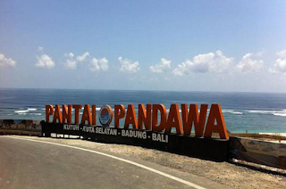 Pesona Pantai Pandawa