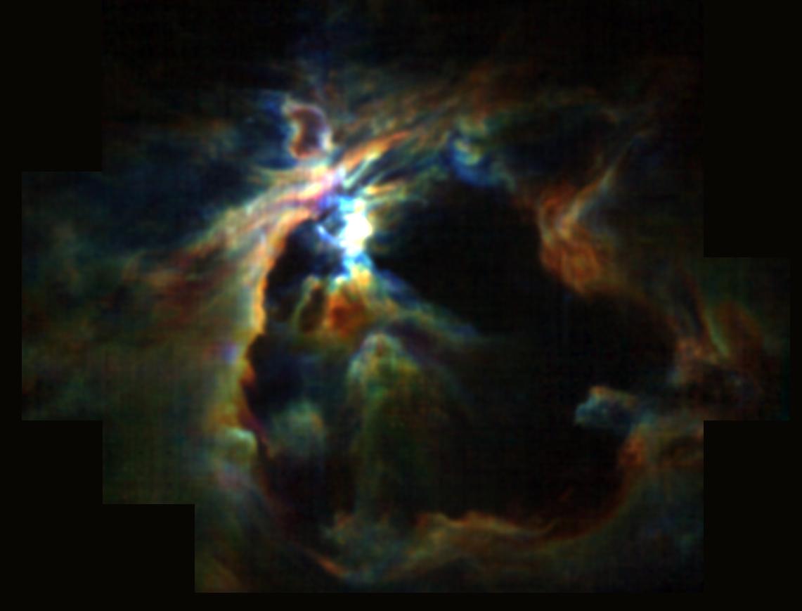 La formación estelar en Orión.