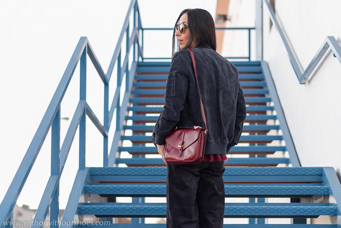 Blogger influencer de moda valenciana con ideas para vestir estas navidades