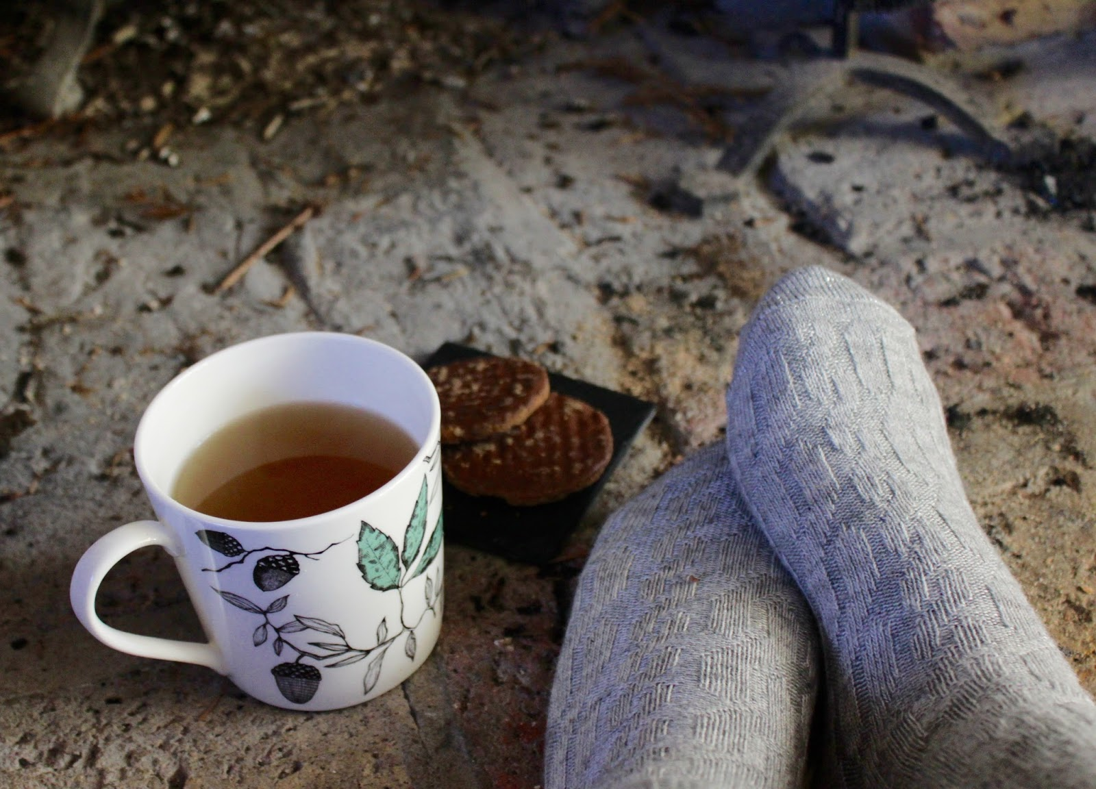 Image result for taking tea in nights