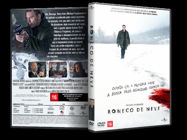 Capa DVD Boneco De Neve [Exclusiva]