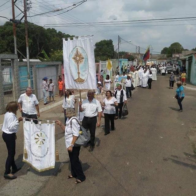 APURE: Minerva Diocesana una gran Fiesta Eucarística que tuvo lugar en la Guamita en San Fernando.