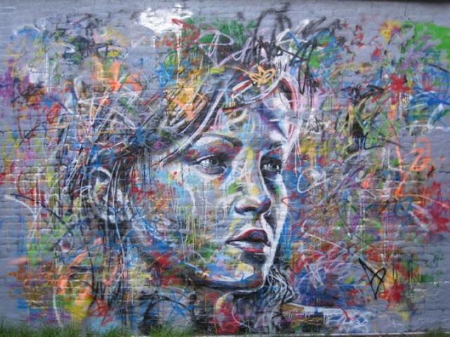 Уличный художник Дэвид Уокер (David Walker) 17