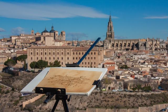 Toledo, na Espanha, uma cidade que é uma pintura