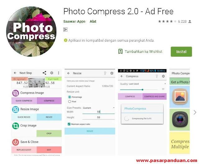 Cara Jitu Untuk Resize / Kompres File Foto di Smartphone Android