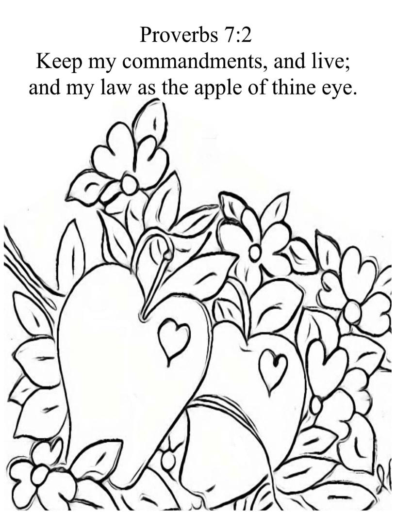 treasure box drawing for jesus valentine apple love god themed