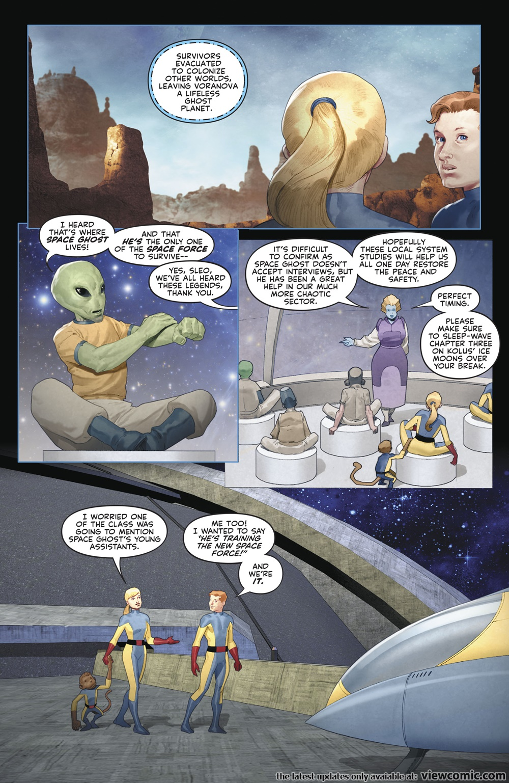 Future Quest Presents 001 (2017)  | Vietcomic.net reading comics online for free