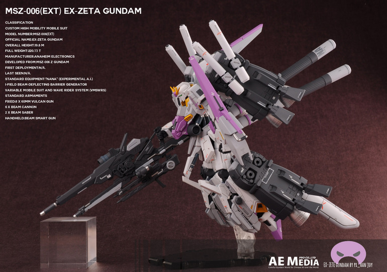 Custom Build: HG 1/144 Ex-Zeta Gundam