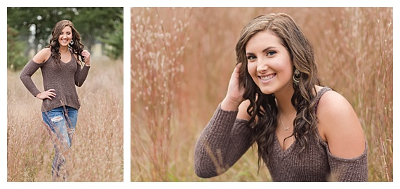 Fall Senior photo poses