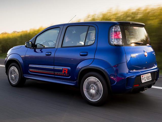Novo Fiat Uno 2017 Sporting Dualogic automatizado