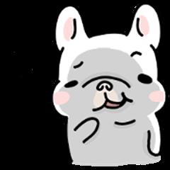 French Bulldog-White Bubble4.0