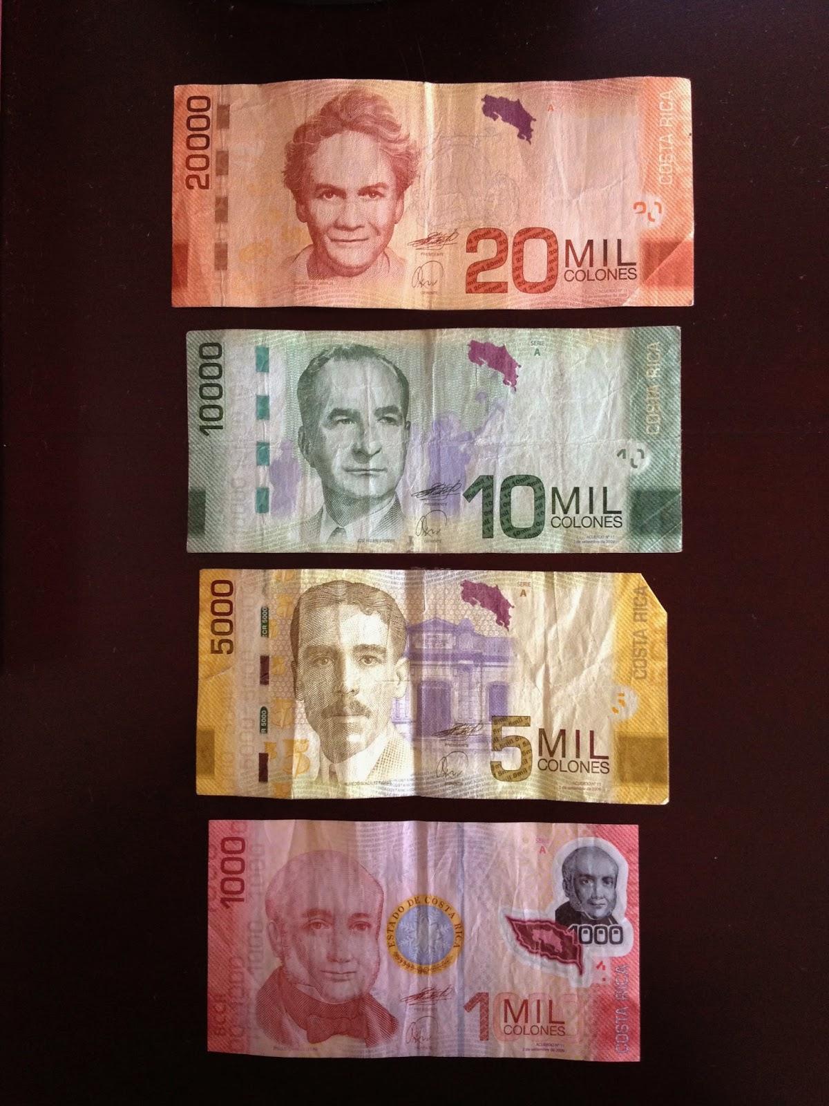 El Dinero De Costa Rica