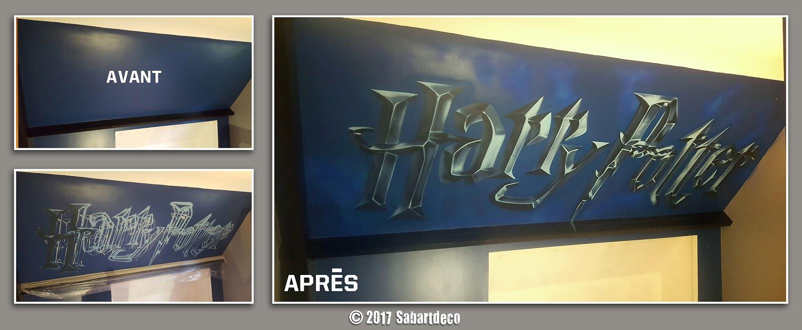 Decoration Chambre Enfant Sur Le Theme Harry Potter A Nieppe