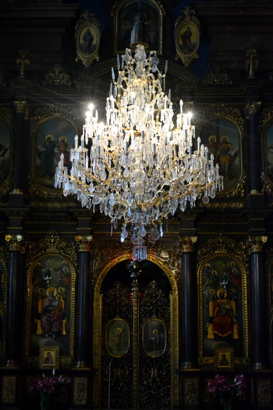 Greek Orthodox Church Chandelier Vienna