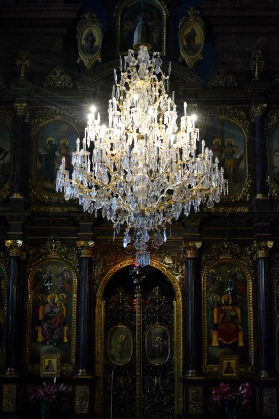 Greek Orthodox Church Chandelier Vienna