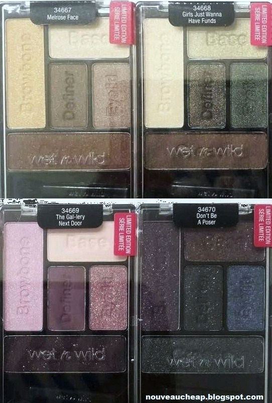 Spotted Wet N Wild Fall 2015 Limited Edition Here S To The Wild Ones Collection Pics