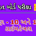 Gujarat Board SSC Time Table 2019- Gujarat Board HSC Time Table 2019