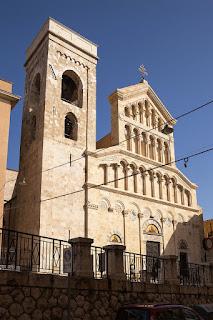 The Cattedrale di Santa Maria e Santa Cecilia in Cagliari
