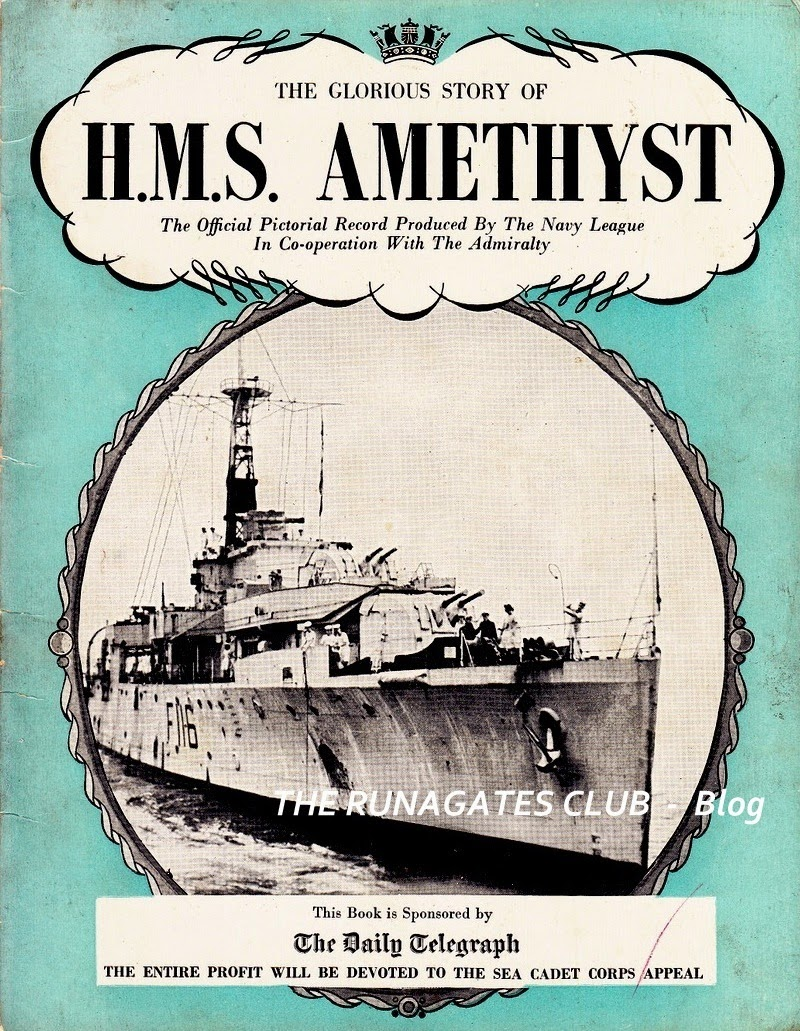 H.M.S. AMETHYST - The Official Pictorial Record, 1949