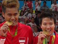 6 Fakta menarik kemenangan ahmad tantowi - Liliyana Natsir di olimpiade rio