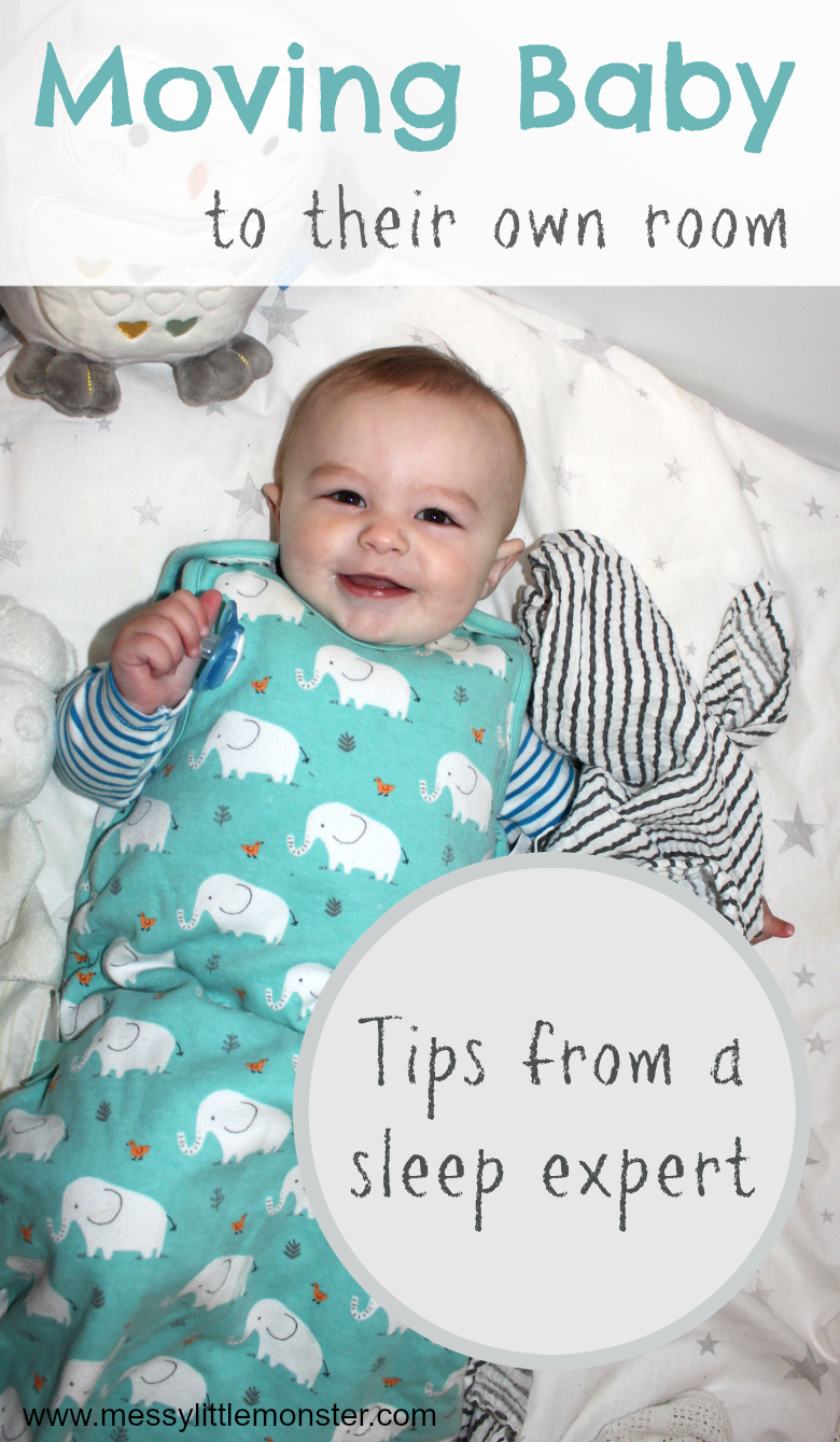 Moving baby to own room - tips from a baby sleep expert