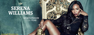 Sportsperson Timeline Cover Of Tennis Legend Serena Williams.