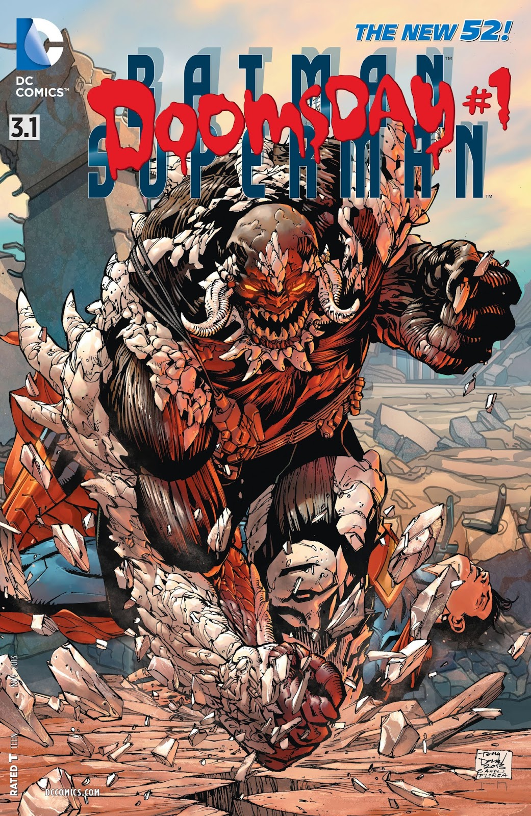 batman v superman doomsday comic cover dc comics warner bros dawn of justice lex luthor