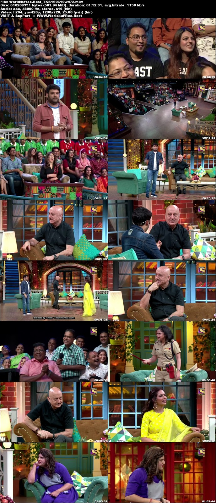 The Kapil Sharma Show S02E50 16 june 2019 720p WEBRip 600Mb