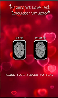 Love Test – Fingerprint Love Calculator Prank