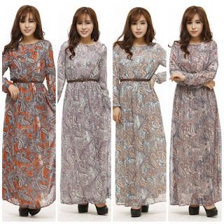 baju maxi dress murah malaysia