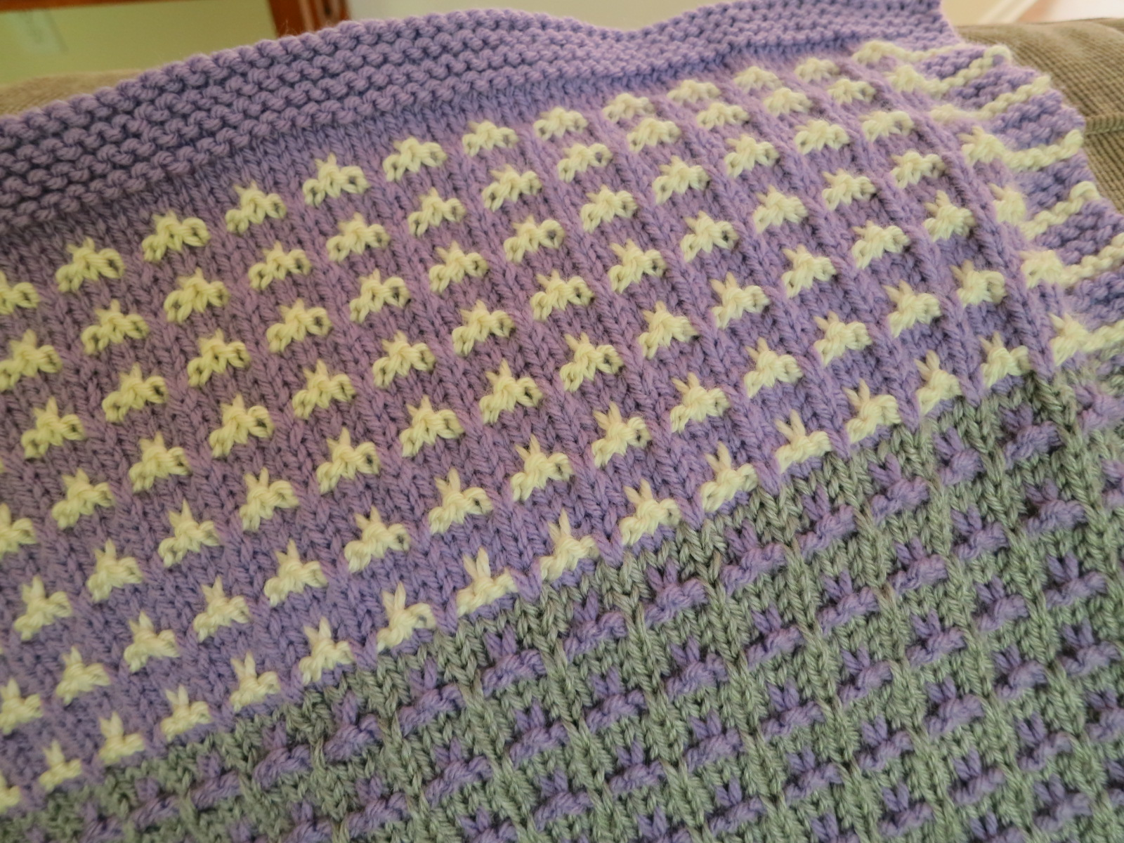 The Fuzzy Lounge: Free Knitting Pattern: Color Field Baby ...
