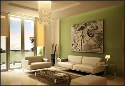 Desain ruang tamu dengan Tema Minimalis Eropa