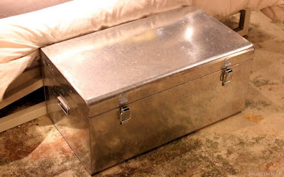 CB2 - Versus Galvanized Trunk