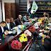 مسؤول العلاقات العامة في المعاونية الجهادية يعقد اجتماعاً بحضور ممثلي المحافظات