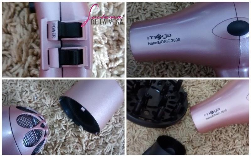 secador de cabelo, Mega Nano Ionic 3600 pink, secador de cabelo rosa, secador de cabelo profissional, taiff