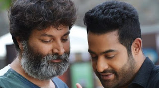 NTR Working Stills From Aravinda Sametha