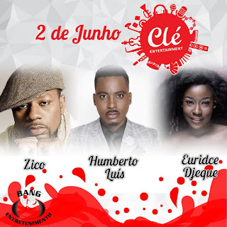 Ziqo, Euridse Jeque e Humberto Luís participam no 1º aniversário da gravadora angolana Clé Entretainment