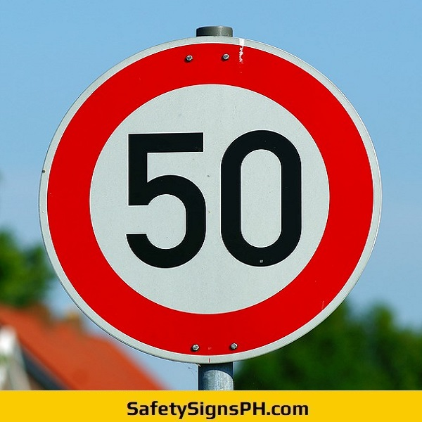 50 Speed Limit Signage Philippines