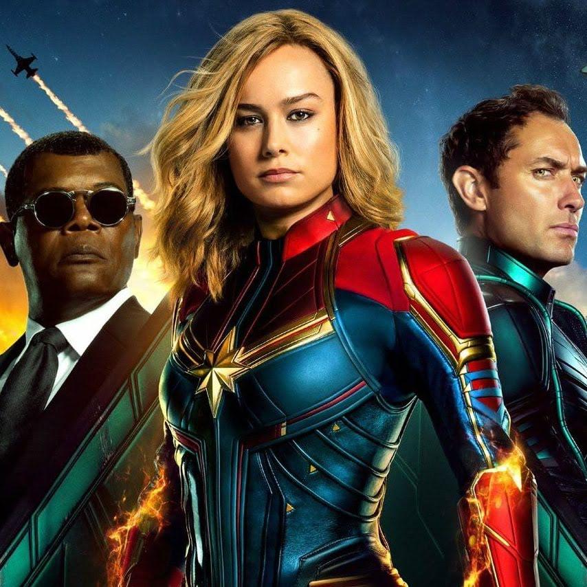 Captain Marvel : ブリー・ラーソン主演のディズニー・マーベル初の戦うヒロイン映画「キャプテン・マーベル」が、海外版の新しいポスターをリリース ! !