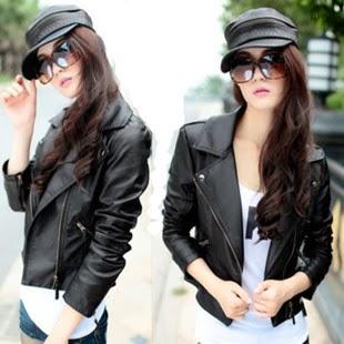 Jaket kulit garut model jaket kulit wanita