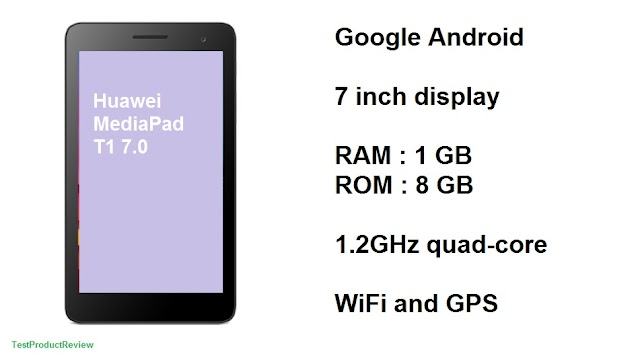 Huawei MediaPad T1 7.0 Android tablet - cheap and reliable