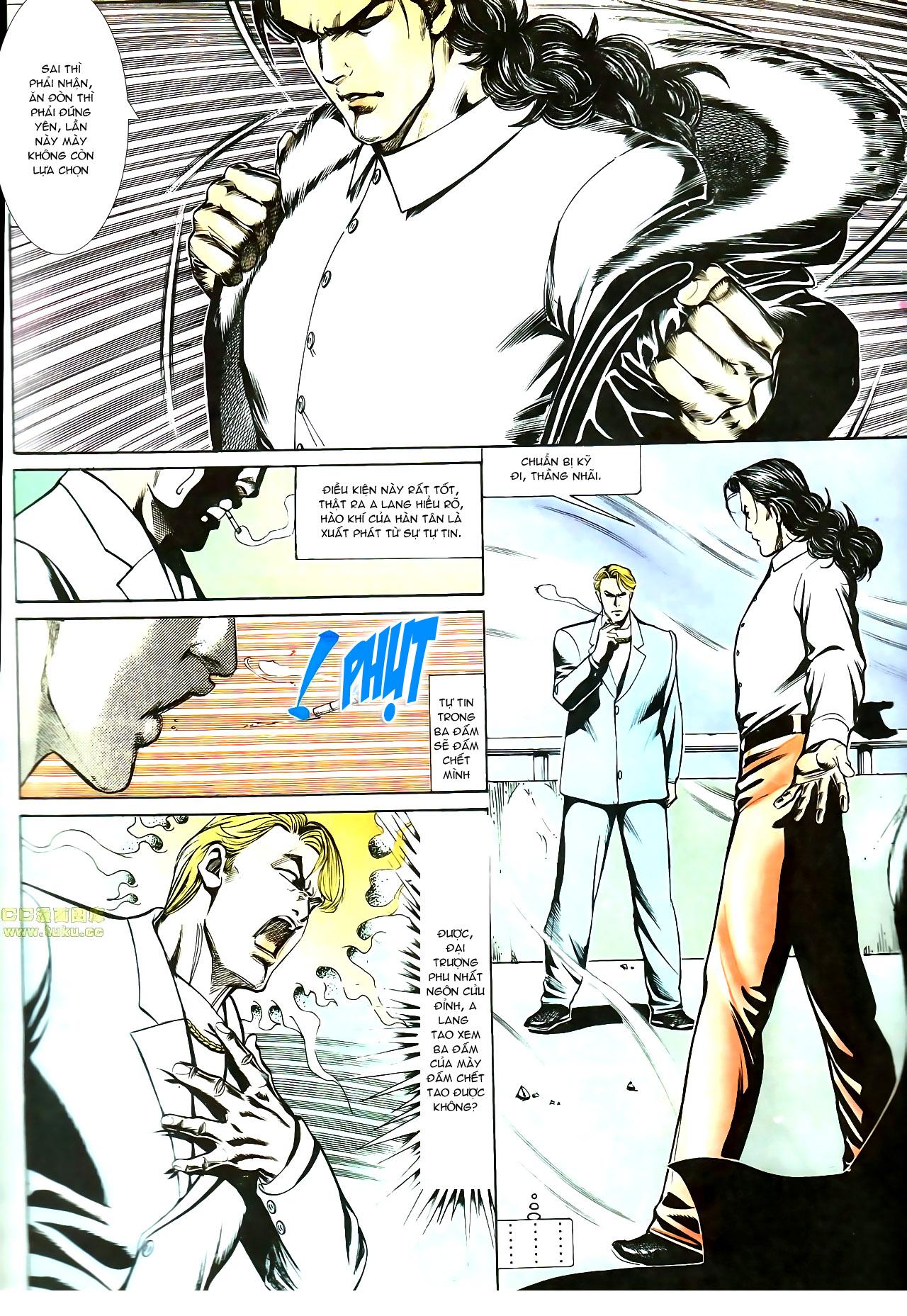 Người Trong Giang Hồ chapter 147: vĩnh biệt kk trang 14